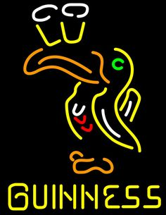 Guinness Toucan (all ) Neon Beer Sign