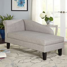 Three Posts Middletown Chaise Lounge Color: Gray