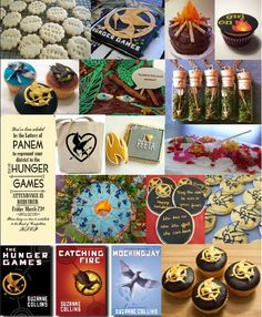For a Hunger Games Party before and after Mockingjay Hunger Games Decorations, 12th Birthday, Birthday Ideas, Birthday Parties, Happy Birthday, Hunger Games Party, I Volunteer As Tribute, Katniss And Peeta, Hunger Games Catching Fire