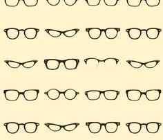 Retro Glasses Frames by dorolimited