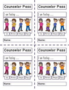 As the school psychologist, social worker, or counselor you see lots of students throughout the year. You have students that need check-ins or support outside of their normal counseling session or you have students you used to see for counseling who may s