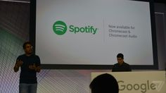 Google Chromecast now supports Spotify
