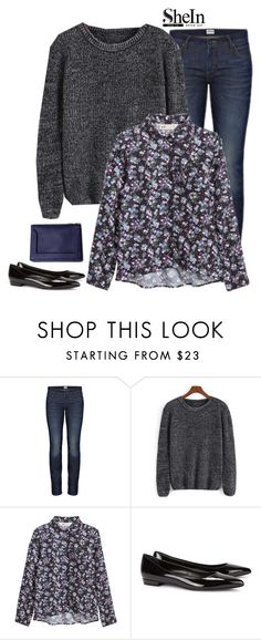 """""""Shein Sweater"""" by tawnee-tnt ❤ liked on Polyvore featuring Edwin, 3.1 Phillip Lim, Yves Saint Laurent, women's clothing, women's fashion, women, female, woman, misses and juniors"""