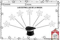 Las estrellas de la magia actividades