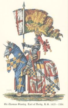 Act V scene iii Stanley: I, as I may.will aid thee in this doubtful shock of arms. [Sir Thomas Stanley in full battle livery] Past Life Memories, Warrior King, Renaissance Artists, Wars Of The Roses, Richard Iii, Knights Templar, King Of Kings, Medieval Art, Religious Art