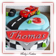 Cars taart #Cars #cake #taart