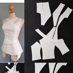 Pintgrams - Just another WordPress site Pattern Draping, Bodice Pattern, Dress Sewing Patterns, Clothing Patterns, Croquis Fashion, Clothing Store Displays, Kurta Designs Women, Couture Sewing, African Fashion Dresses