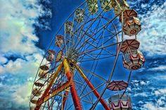 Ferris Wheel #ferriswheel #funfair #fairground #hdr #finland