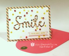 Stampin up stampin' up! pretty paper pumpkin card mary fish