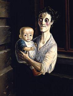 https://flic.kr/p/5Vx1JP | Dix, Otto (1891-1969) - 1921 Woman with Child
