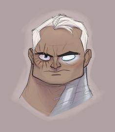 Les X-Men version cartoon de Randy Bishop - Cable