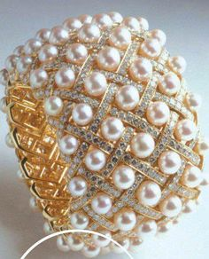 Pearls and diamonds ~ how can you go wrong???