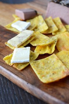 Fat head cracker with serving adjustable recipe
