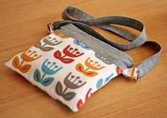 book pouch zipper pouch