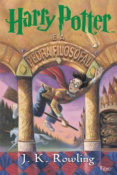 Livro azul: Harry Potter e a pedra filosofal
