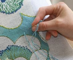 learn how to needlepoint