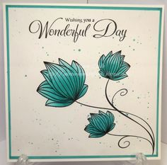 Cards & Other Crafty Bits: Same Stamp, 3 Cards Honey Doo Crafts, Day Wishes, Card Maker, I Card, Cardmaking, Bee, Place Card Holders, Crafty, Card Ideas