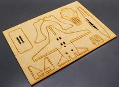 airplane laser cut - Buscar con Google