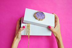 The Etsy Blog How-Tuesday: Crystal-Topped Jewelry Box     https://blog.etsy.com/en/2014/how-tuesday-crystal-topped-jewelry-box/