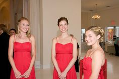 Be sure to see our pretty red bridesmaid dresses. Be sure to visit our website for wedding favors, reception decorations, and more. http://www.CreativeWeddingStyle.