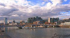 #hdr #Dublin #Irland #Liffey #SeanOCaseyBridge HDR-Fotografie www.Loopzone.de