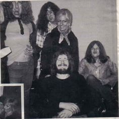 Does anybody remember laughter? Percy, Pagey, Bonzo and Jonesy do.