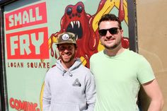 Small Fry will start serving up burgers geared toward a late-night crowd in April.