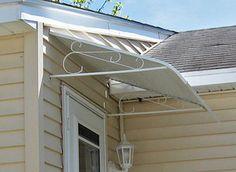 Deluxe door #canopy #awning
