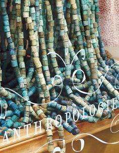 blue corks - <3 Anthropologie.