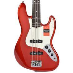 Fender American Pro Jazz Bass RW Candy Apple Red w/Hardshell Case