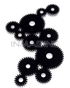 Group of cogs photo