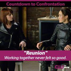 Amanda and Nikita's reunion literally ignited the fire between them! The season finale of Nikita is tomorrow!