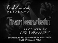 Frankenstein Blu-ray - Boris Karloff