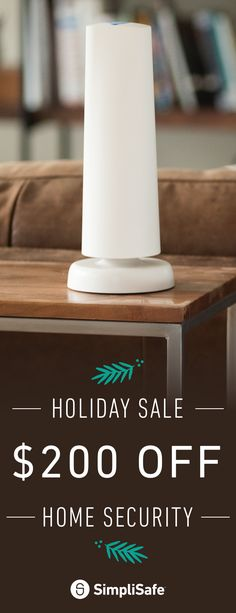 Our holiday sale is on! Order now to get $200 Off SimpliSafe's most popular home security system, The Defender. With entry, motion, glassbreak sensors and more, it's got everything you need to secure your home. Hurry! It's our biggest sale of the year and it's ending soon.