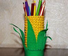DIY: pencil cup