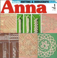 Fiber Art Reflections: Macramé Crochet Lace (also known as Romanian Point Lace).