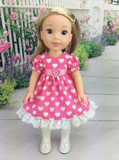 "GLITTER GIRLS All American Girl /""Sweet Tooth/"" Romper Outfit w//shoes for 14/"" Doll"