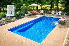 Lil Bob Fiberglass Pool Photo