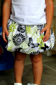 Seamingly Smitten: TUTORIAL: How to sew a bubble skirt