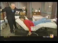 Mad TV - Lorraine Buys a Bed. Just... watch it. Guaranteed smiles.