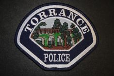 Torrance Police Patch, Los Angeles County, California (Current 2000 Issue)