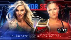 Who Should Win? Ronda Rousey or Charlotte Flair. Becky Lynch is now out of the Survivor Series match. We will now see Ronda Rousey vs Charlotte Flair. Becky Lynch, Wwe Lucha, Wwe Events, Ronda Rousey Wwe, Wwe Ppv, Wwe Survivor Series, Charlotte Flair Wwe, Wwe Seth Rollins, Rowdy Ronda