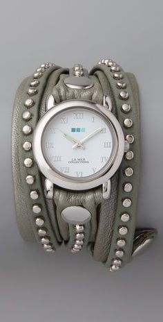 Stud Wrap Watch. so cute.