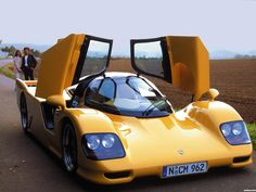 Porsche 962 dauer lemans road car 1994 1996