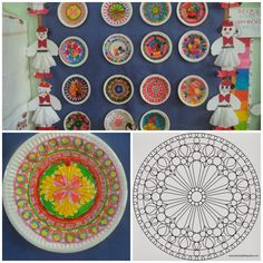 National Days, Craft Patterns, Embroidery Patterns, Beach Mat, Decorative Plates, Mandala, Projects To Try, Outdoor Blanket, Collage