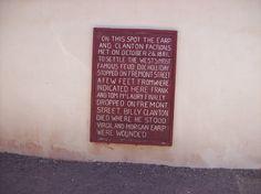The O K Corral - Tombstone, AZ