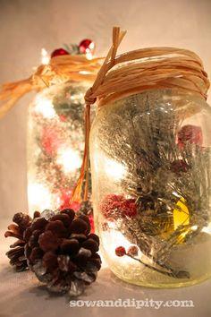 Frosted mason jars, SO easy to do! #masonjar