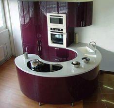 Oval mutfak modelleri ve tezgahları - OVAL KITCHEN MODELS  Detaylı bilgi ve resimler için ( FOR MORE INFO & PICTURES ) : www.designcoholic.com/mutfak-tasarimlari/oval-mutfak-modelleri-ve-tezgahlari.html