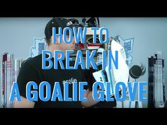 Most hockey goalie glove break-in methods only give you a little better snap, but what about making it as big and wide as possible? Fortunately, my easy glov. Goalie Gloves, Hockey Goalie, Tips, Youtube, Youtubers, Youtube Movies, Counseling