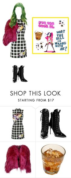"""the sky's falling"" by arthoe2001 ❤ liked on Polyvore featuring Christopher Kane, Giuseppe Zanotti and Emilio Pucci"